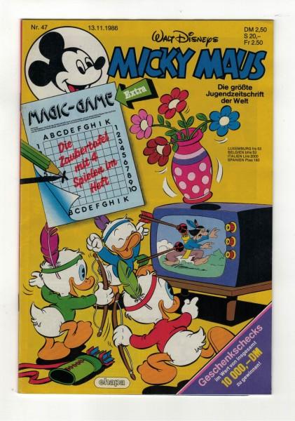 Micky Maus 1986 Nr. 47 / 13.11.1986