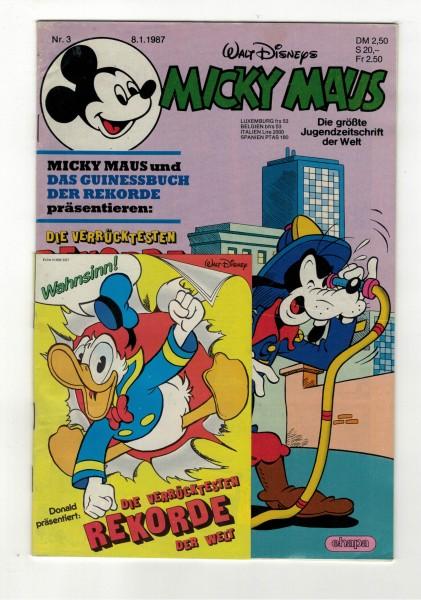 Micky Maus 1987 Nr. 03 / 08.01.1987