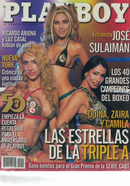 Playboy Mexiko 2003-09 September