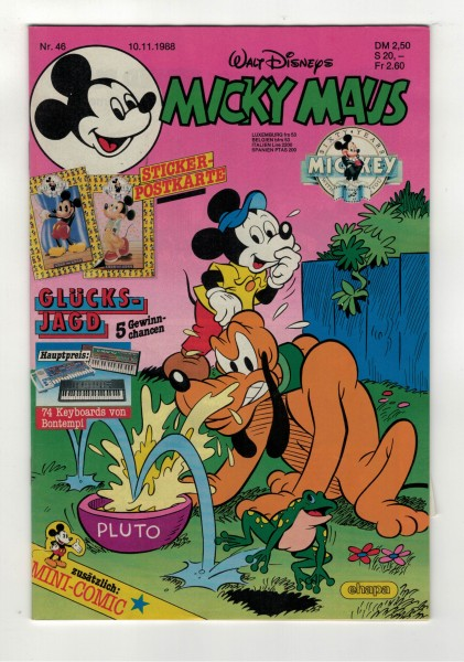 Micky Maus 1988 Nr. 46 / 10.11.1988