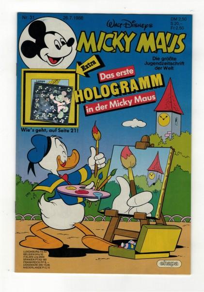 Micky Maus 1986 Nr. 31 / 26.07.1986