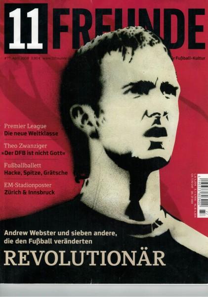 11 Freunde - Heft Nr. 077 - 04 April 2008
