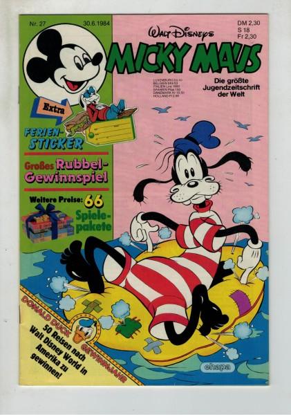 Micky Maus 1984 Nr. 27 / 30.06.1984