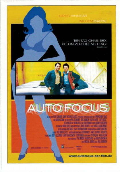 "Cinema Filmkarte ""Auto Focus"""