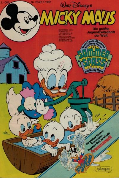 Micky Maus 1982 Nr. 25 / 22.06.1982