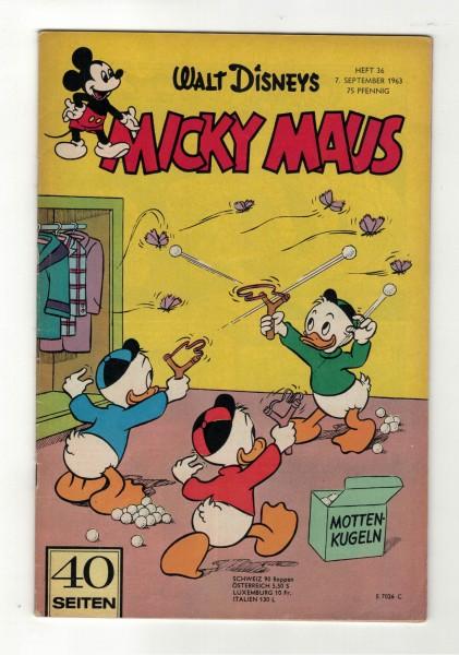 Micky Maus 1963 Nr. 36 / 07.09.1963