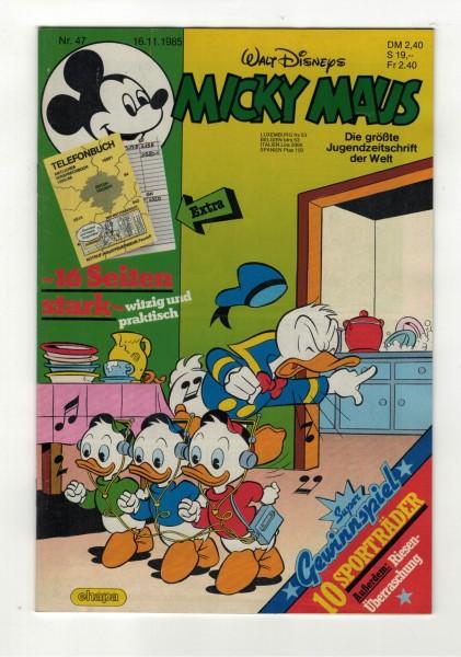 Micky Maus 1985 Nr. 47 / 16.11.1985