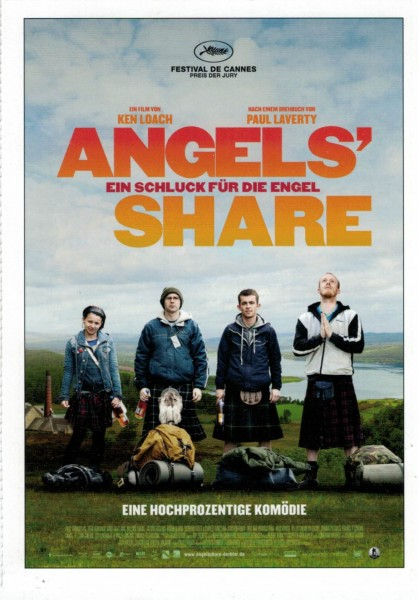 "Cinema Filmkarte ""Angel´s Share"""