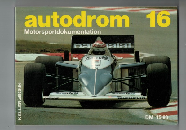 autodrom 16 - Motorsportdokumentation Ausgabe 1984