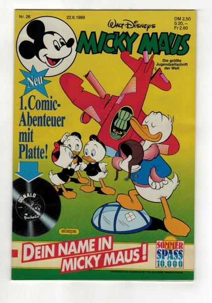 Micky Maus 1989 Nr. 26 / 22.06.1989