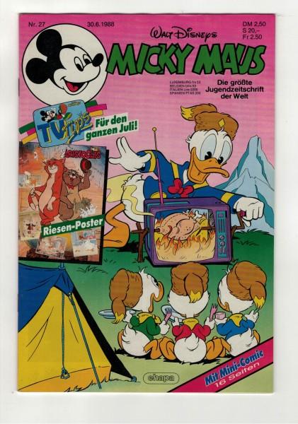 Micky Maus 1988 Nr. 27 / 30.06.1988