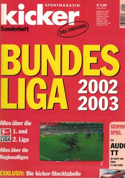 Kicker Sonderheft Bundesliga 2002/03