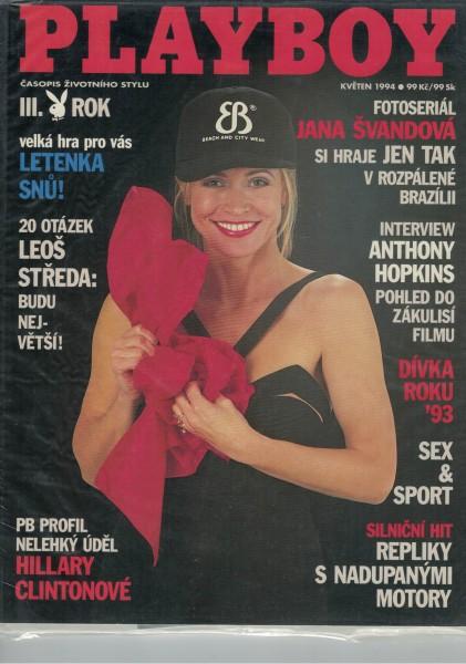 Playboy Tschechei 1994-05 Mai