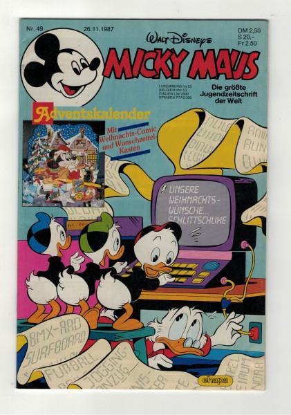 Micky Maus 1987 Nr. 49 / 26.11.1987
