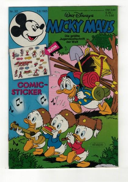 Micky Maus 1985 Nr. 32 / 03.08.1985