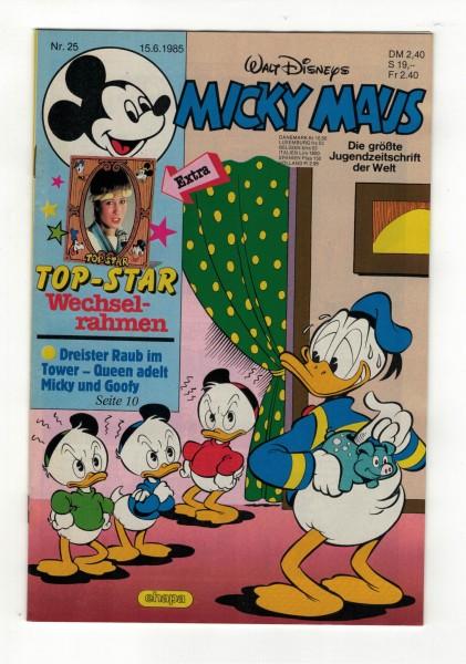 Micky Maus 1985 Nr. 25 / 15.06.1985