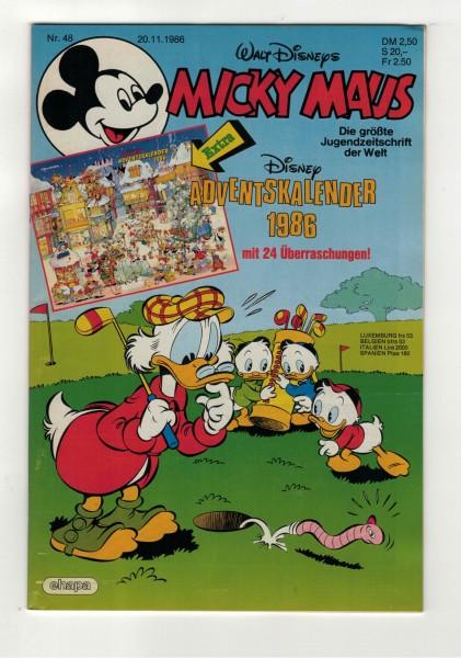 Micky Maus 1986 Nr. 48 / 20.11.1986