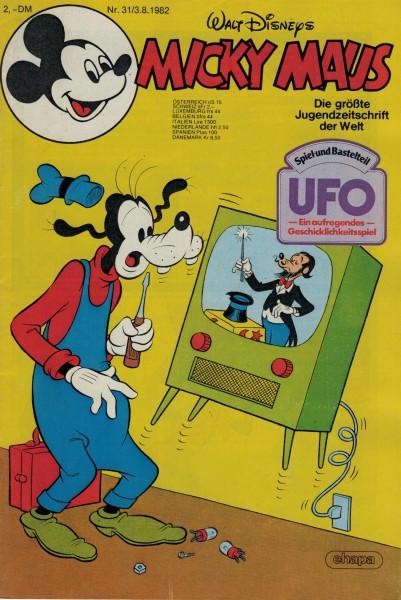 Micky Maus 1982 Nr. 31 / 03.08.1982