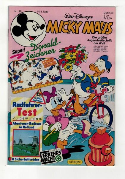 Micky Maus 1988 Nr. 16 / 14.04.1988