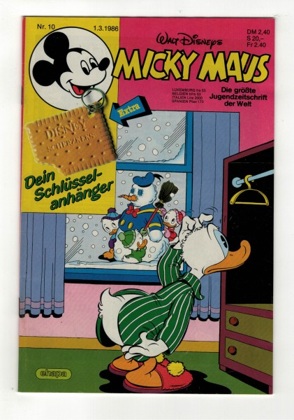 Micky Maus 1986 Nr. 10 / 01.03.1986