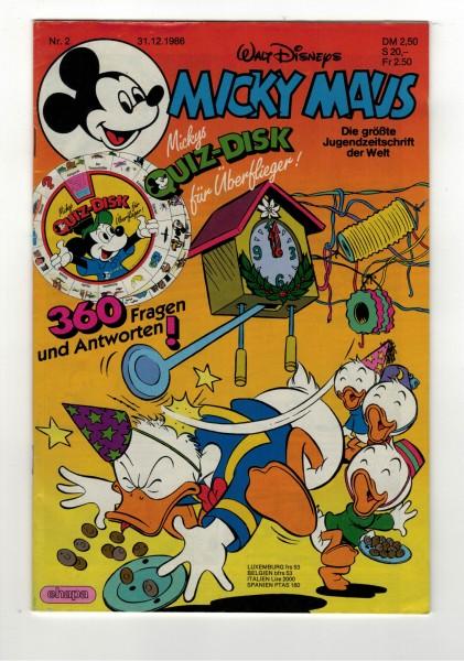 Micky Maus 1987 Nr. 02 / 31.12.1986