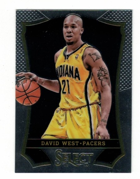 Basketballkarte - DAVID WEST - Panini - Select