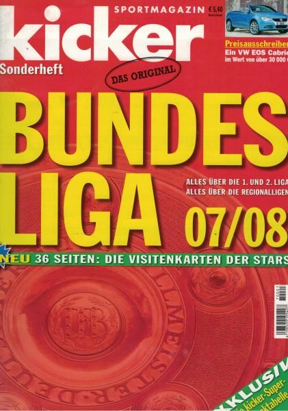Kicker Sonderheft Bundesliga 2007/08
