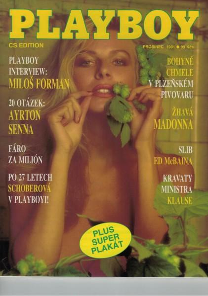 Playboy Tschechei 1991-12 Dezember