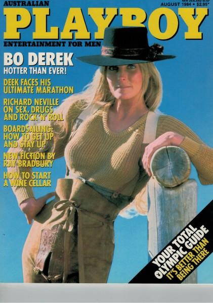 Playboy Australien 1984-08 August