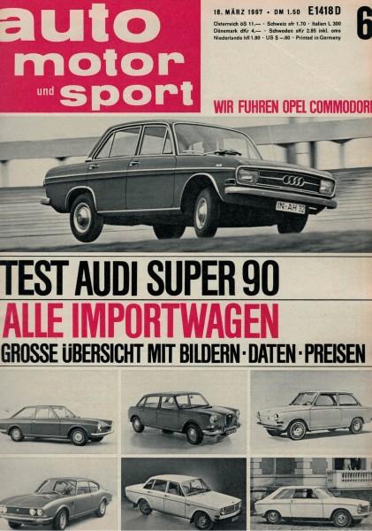 Auto Motor und Sport 1965 Heft 06-20.03.1965