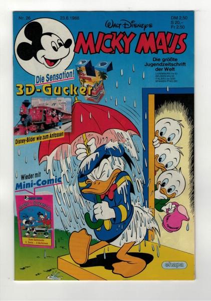 Micky Maus 1988 Nr. 26 / 23.06.1988