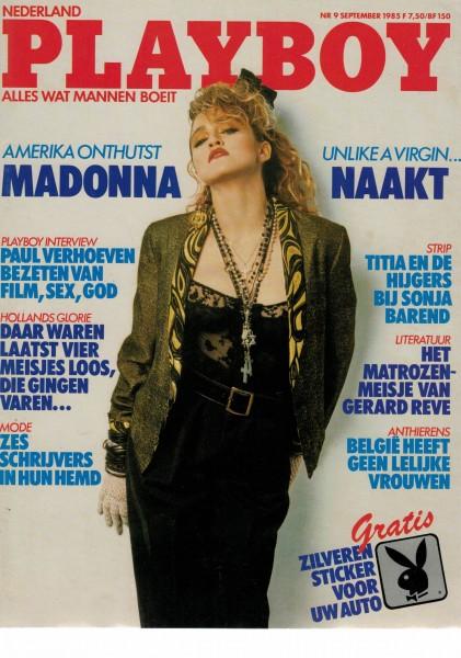 Playboy Niederlande 1985-09 September
