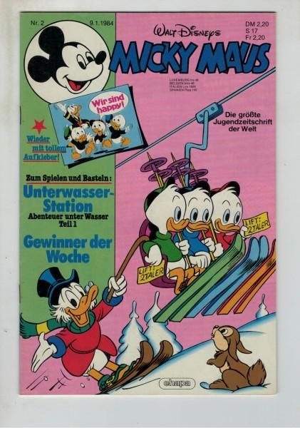 Micky Maus 1984 Nr. 02 / 09.01.1984