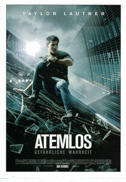 """Cinema Filmkarte """"Atemlos - Gefährliche Wahrheit"""""""