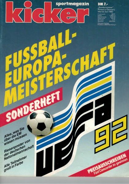 Kicker Sonderheft EURO 1992