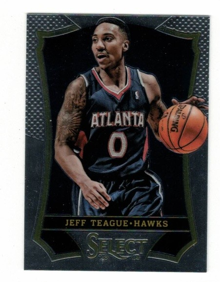 Basketballkarte - JEFF TEAGUE - Panini - Select