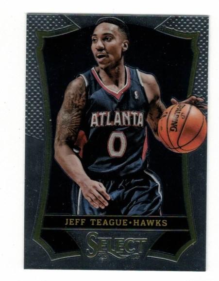 Basketballkarte - JEFF TEAGUE - Panini - Select