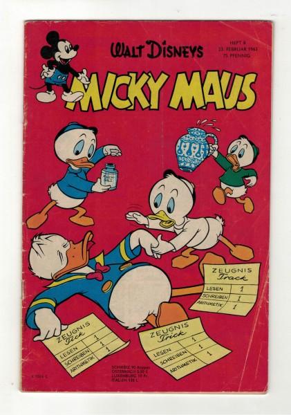 Micky Maus 1963 Nr. 08 / 23.02.1963