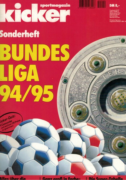 Kicker Sonderheft Bundesliga 1994/95