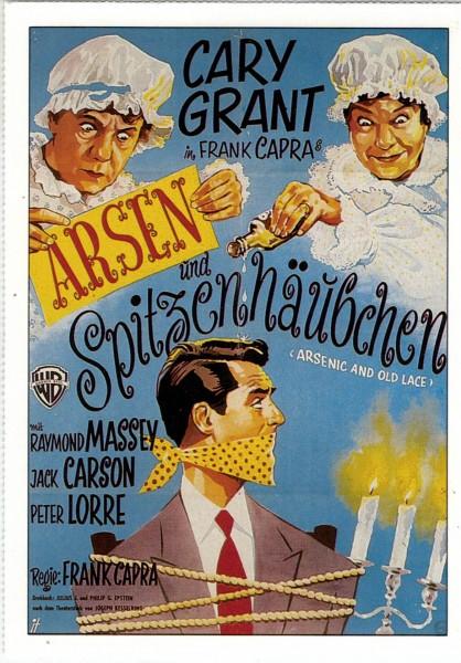 """Cinema Filmkarte """"Arsen und Spitzenhäubchen"""""""