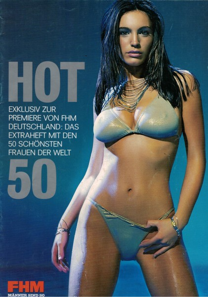 FHM - For Him Magazine - Special HOT 50