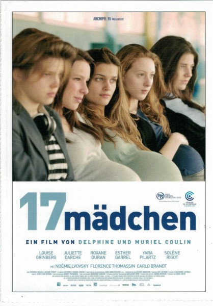 "Cinema Filmkarte ""17 Mädchen"""