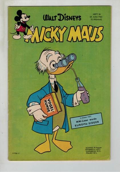 Micky Maus 1963 Nr. 26 / 29.06.1963