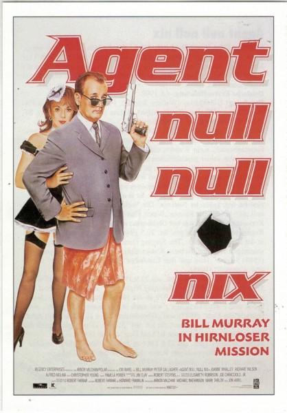 "Cinema Filmkarte ""Agent null null nix"""