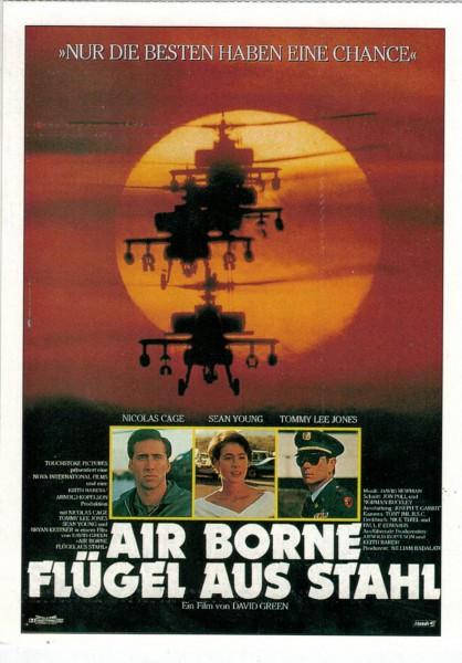 """Cinema Filmkarte """"Air Borne - Flügel aus Stahl"""""""