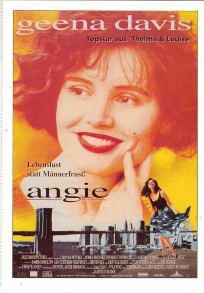 """Cinema Filmkarte """"Angie"""""""