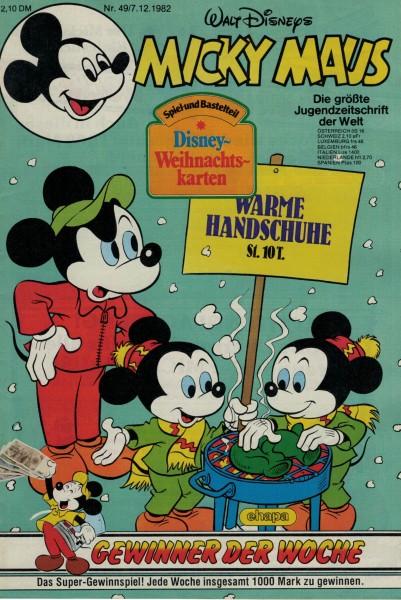 Micky Maus 1982 Nr. 49 / 07.12.1982