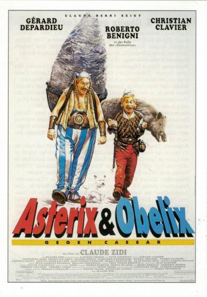 "Cinema Filmkarte ""Asterix & Obelix gegen Caesar"""