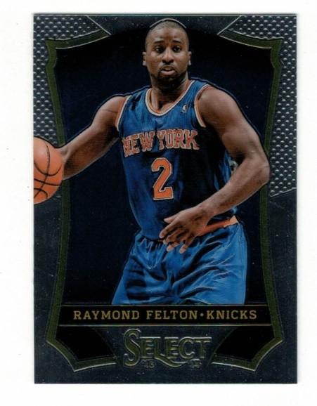 Basketballkarte - RAYMOND FELTON - Panini - Select