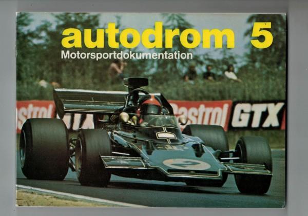 autodrom 05 - Motorsportdokumentation Ausgabe 1973